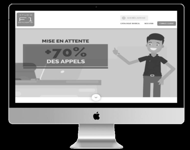 VOIP - Attente téléphonique - F1 Communication Studio